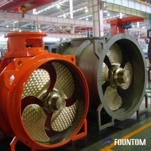 tunnel thruster with cpp