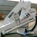 Marine Hydraulic Full Foldable Boom Crane