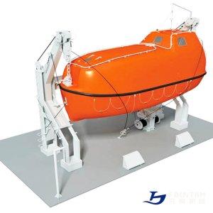 gavity_davit_for_enclosed_lifeboats