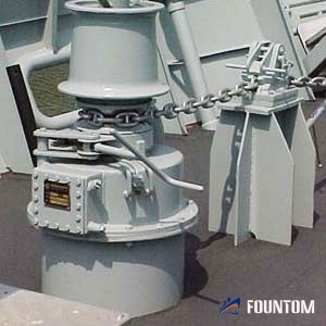 hydraulic anchor capstan