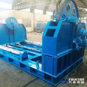 Hydraulic spooling machine