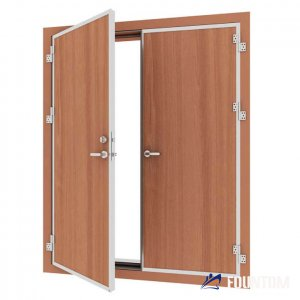 Class A-60 Double leaf Weathertight gas tight fire door