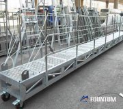 aluminum embarking ladder